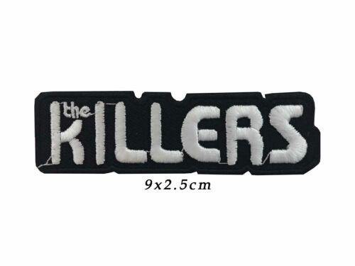 THE KILLERS Embroidered Rock Band Iron On Patch sew on baddge A814