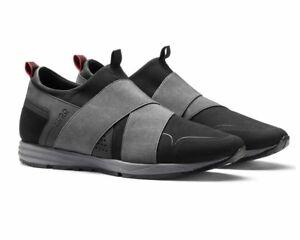 Mens Hugo Boss Black Hybrid Grey Shoes