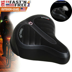 Comfort-Wide-Bike-Seat-Cushion-Soft-Padded-Mountain-Ergonomic-3D-Bicycle-Saddle