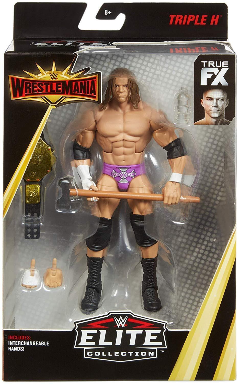 Wwe Triple H Belt Wrestlemania 35 Mattel Elite Serie