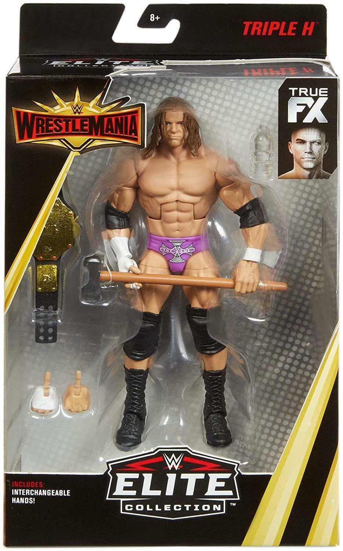 WWE TRIPLE H BELT WRESTLEMANIA 35 MATTEL ELITE SERIES WRESTLING ACTION FIGURE