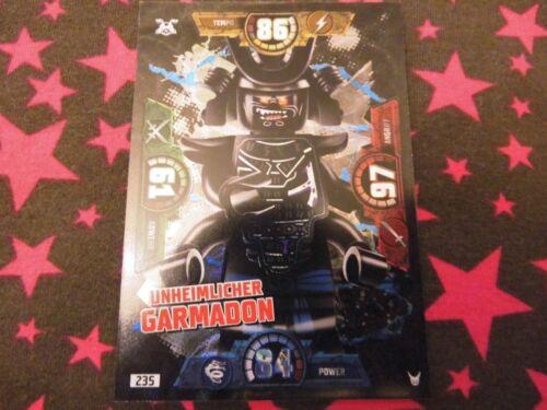 Creepy Garmadon-no 235-Trading Card-Lego ® Ninjago ™ Black-Foil Card