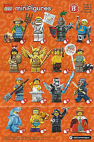 Lego Minifigures Series 15 71011 1 set 16 packs