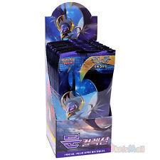 Collection Carte Pokemon Soleil Lune Lunala GX Boîte de 30 Booster Packs Coréen