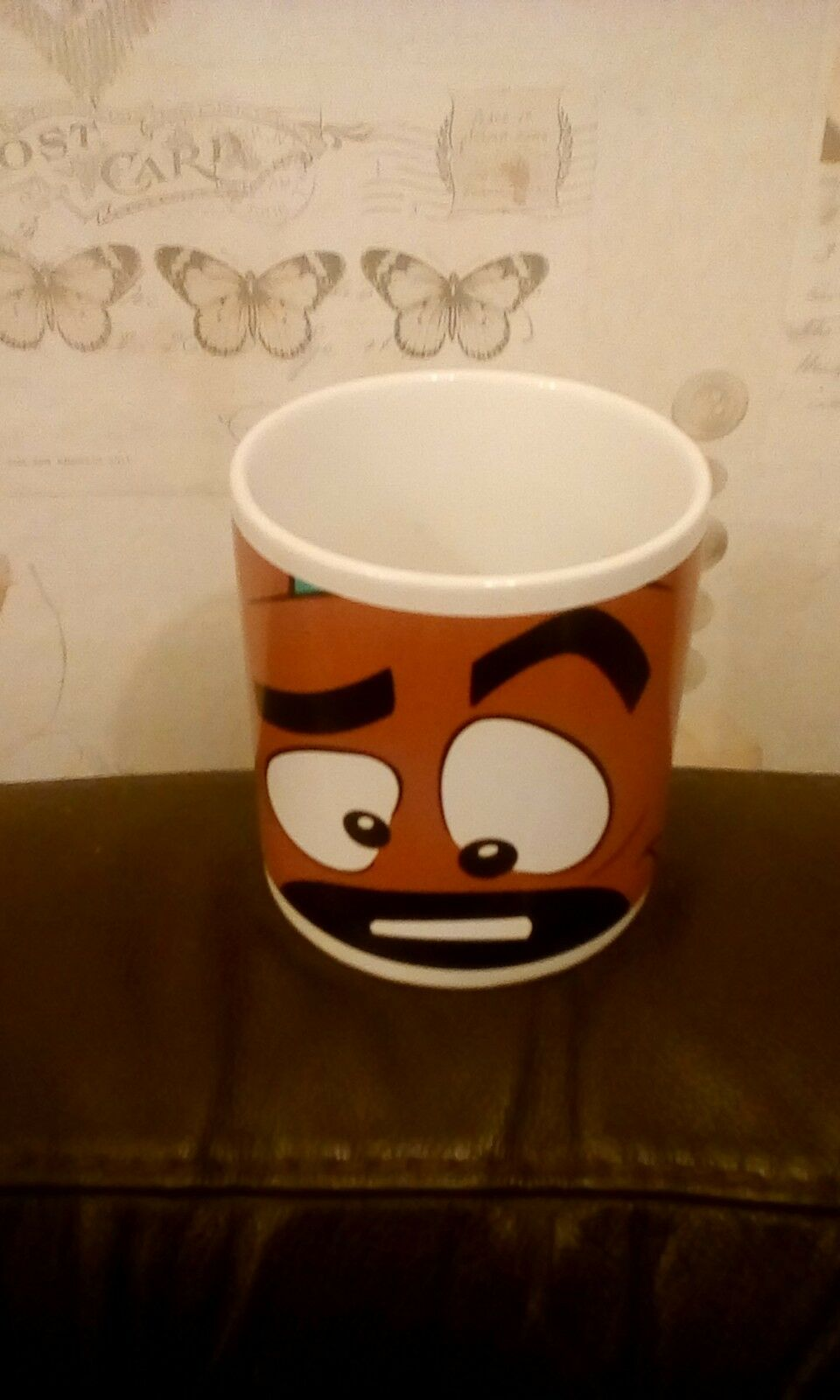 LARGE SCOOBY DOO MUG CARTOON NETWORK  WARNER BROS STORE 1997 11CM HIGH 10CM DIAM