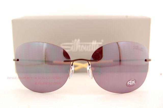 8166959186 Silhouette Titanium Sunglasses TMA Icon 8144 6223 Purple 8144-6223. +.   161.99Brand New. Free Shipping