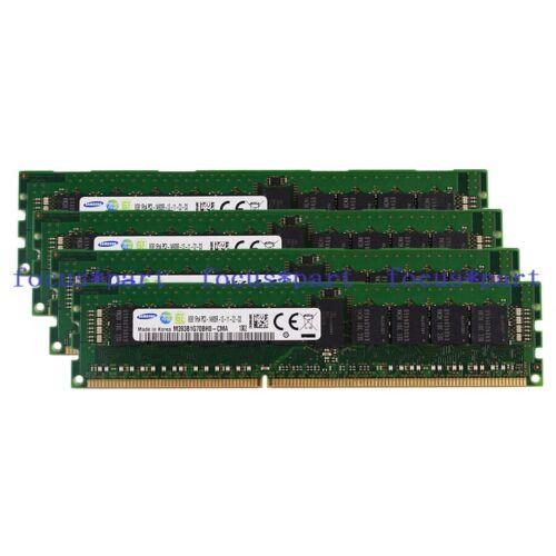 New Samsung 32GB 4X8GB PC3-14900R 1RX4 DDR3-1866MHZ REG ECC Registered Server