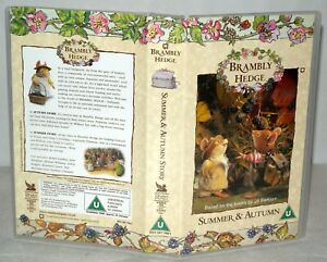 Brambly-Hedge-Summer-amp-Autumn-BRAND-NEW-VHS-Video-Tape-Vintage-Classic
