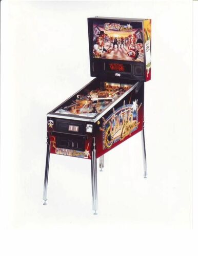 BALLY CACTUS CANYON ORIGINAL NOS FACTORY FLIPPER PINBALL MACHINE PRESS PHOTO #1