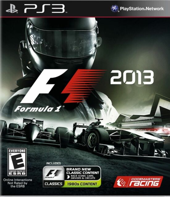 F1 2013 Sony Playstation 3 2013 For Sale Online Ebay