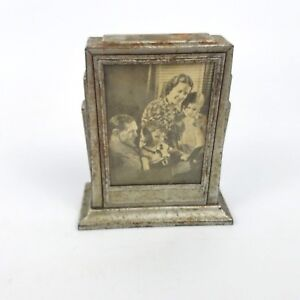 Art Deco Hoekbank.Details About Zell Products Coin Bill Bank New York City Art Deco Picture Frame Vintage
