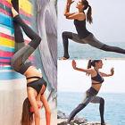 New Womens YOGA Workout Gym Capri Sports Pants Leggings Fitness Stretch Trouser