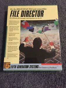 5th Generation Systems File Manager The Creators Of Fastback For IBM-pc/xt