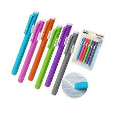 Retractable Mechanical Eraser Pen Pack Of 6 Assorted Color