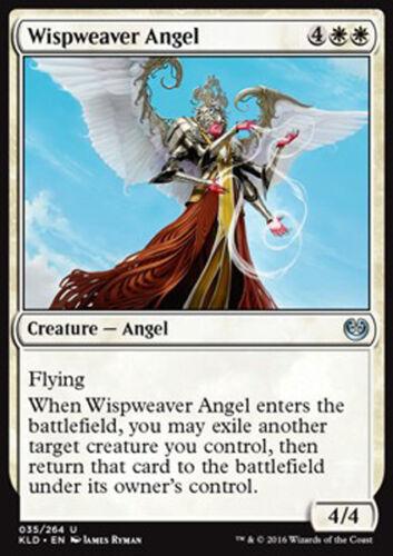 MAGIC KLD ANGELO TESSINUVOLE MTG 4x WISPWEAVER ANGEL