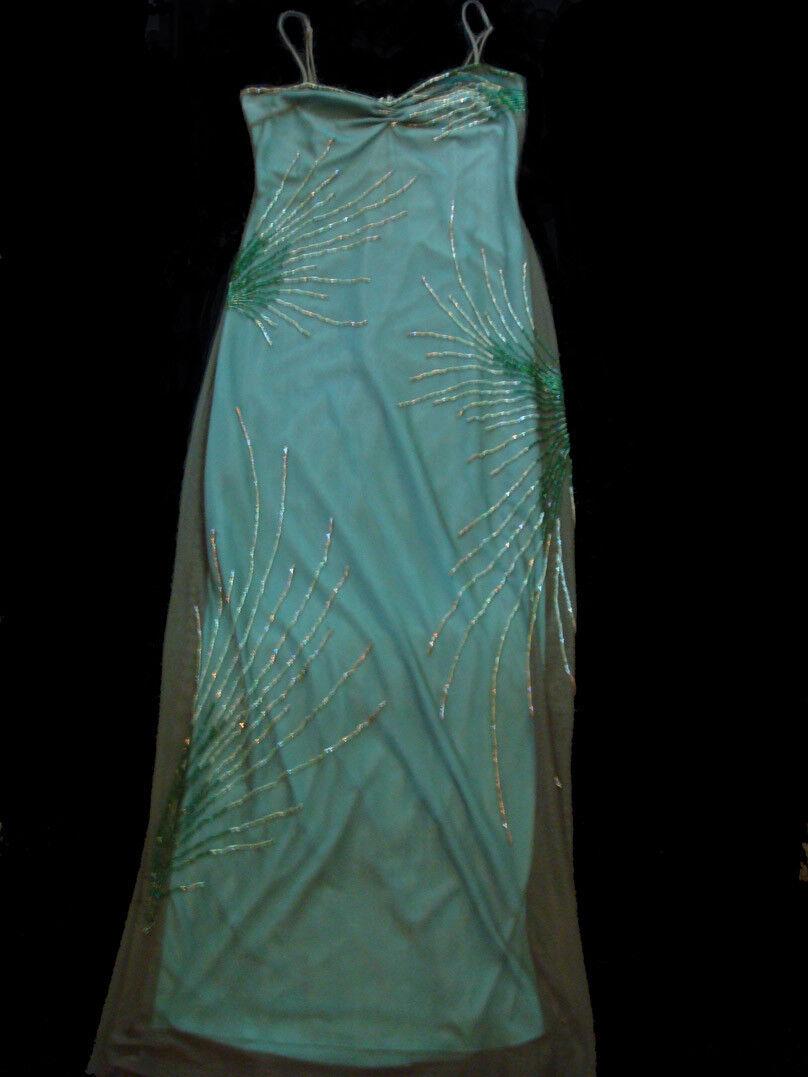 Fantastic Form Flattering BCBG Dress Size S NWOT Fine Bead Work