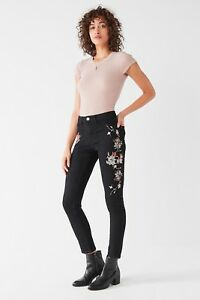 official sale buy best offer discounts Details about URBAN OUTFITTERS BDG Twig High-Rise Embroidered Jean