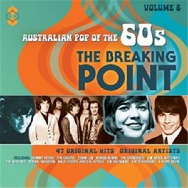 AUSTRALIAN POP OF THE 60s BREAKING POINT VOLUME 6 VARIOUS ARTISTS 2 CD NEW