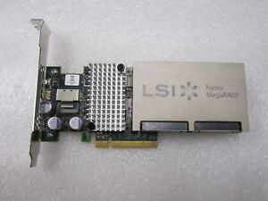LSI AVAGO NYTRO MegaRAID NMR8110-4i SAS CONTROLLER CARD PCIe 200GB NAND SSD