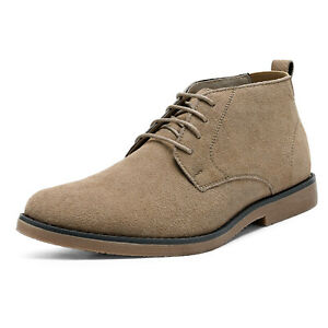 Bruno Marc Mens Suede Chukka Boots Desert Lace Up Dress Ankle Boot