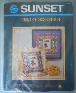 Sunset-Bears-Ballons-Butterflies-Counted-Cross-Stitch-Kit-2964
