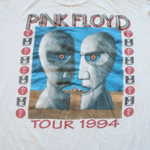 Vintage 1994 Pink Floyd Division Bell Tour Tshirt