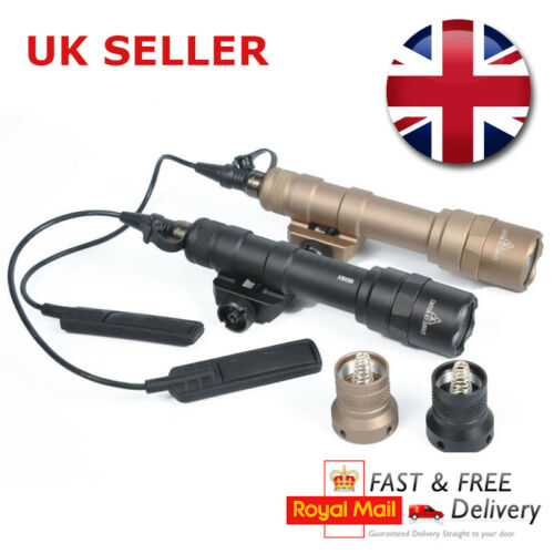 Airsoft Element Surefire M600b Scout Flashlight Torch LED 400 LUMENS UK SELLER
