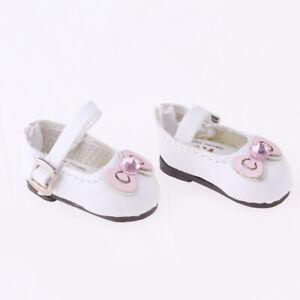 1-6-Poupee-Vetement-Chaussures-Cuir-PU-Decoration-pour-BJD-Blythe-Azone