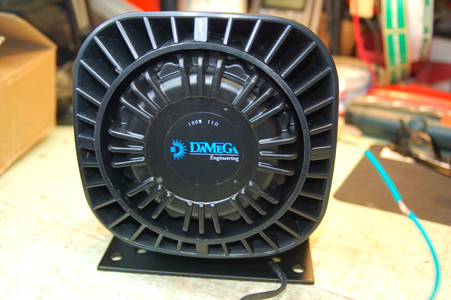 DaMega Growler Siren Speaker 100 watt 11ohm compact  ShoMe Code3 Federal Signal