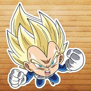 Chibi-Super-Saiyan-Vegeta-Dragon-Z-Die-Cut-Wall-Car-Window-Decal-Sticker