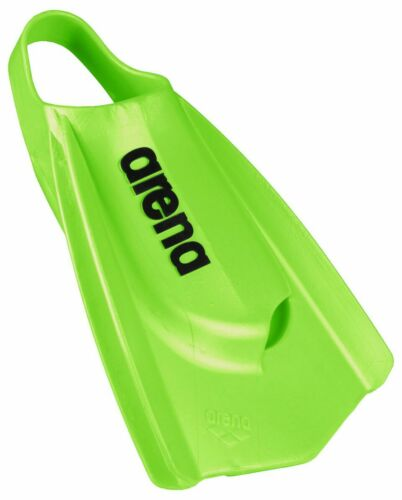 Arena Flippers.flippers Natation Nageoires Arena Powerfin Pro Citron Nageoires