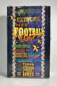 1994-Stadium-Club-High-Series-Football-card-box-Sealed-contains-24pks