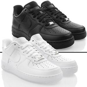 Neu-Schuhe-NIKE-AIR-FORCE-1-Herren-Exclusive-Low-Sneaker-Turnschuhe-ORIGINAL