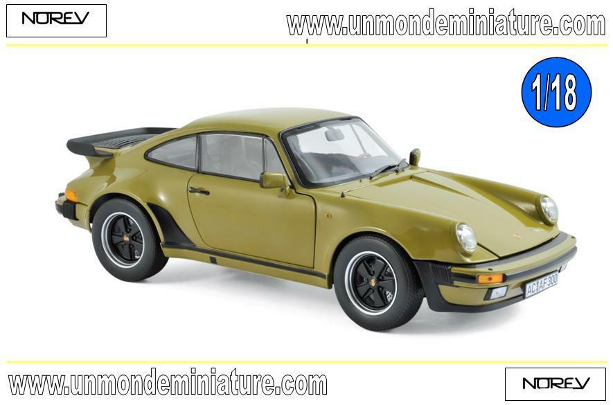 Porsche 911 Turbo 3.3 1977 Olive vert NOREV  - NO 187575 - Echelle 1 18