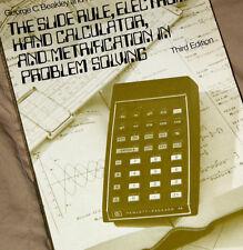 1975 Slide Rules & Electronic Calculators HP-35 Bowmar MX100 SR-50 Accumatic 999