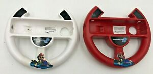 2-OFFICIAL-POWER-A-WII-U-MARIO-KART-8-STEERING-WHEEL-NINTENDO-RACING-GAMES