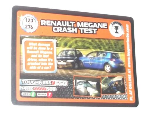 Top Gear Turbo Challenge 2009 Trading Cards 101-150