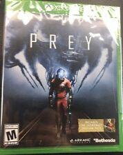 BRAND NEW SEALED - 'PREY' (Microsoft Xbox One, 2017)  with SHOTGUN PACK DLC