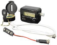 KIT Satellite Finder con segnale acustico NC + WARSAW SKY