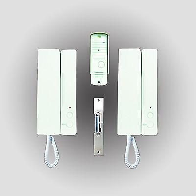 ELRO IB12 Türsprechanlage Gegensprechanlage Hausspechanlage Spechanlage 2Telefon