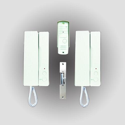 Elro Citofono tipo ib12 con maniglie come Set citofoni impianto telefonico