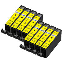 8 Compatible CLI-526Y Yellow Ink Cartridges for Canon Pixma Printers