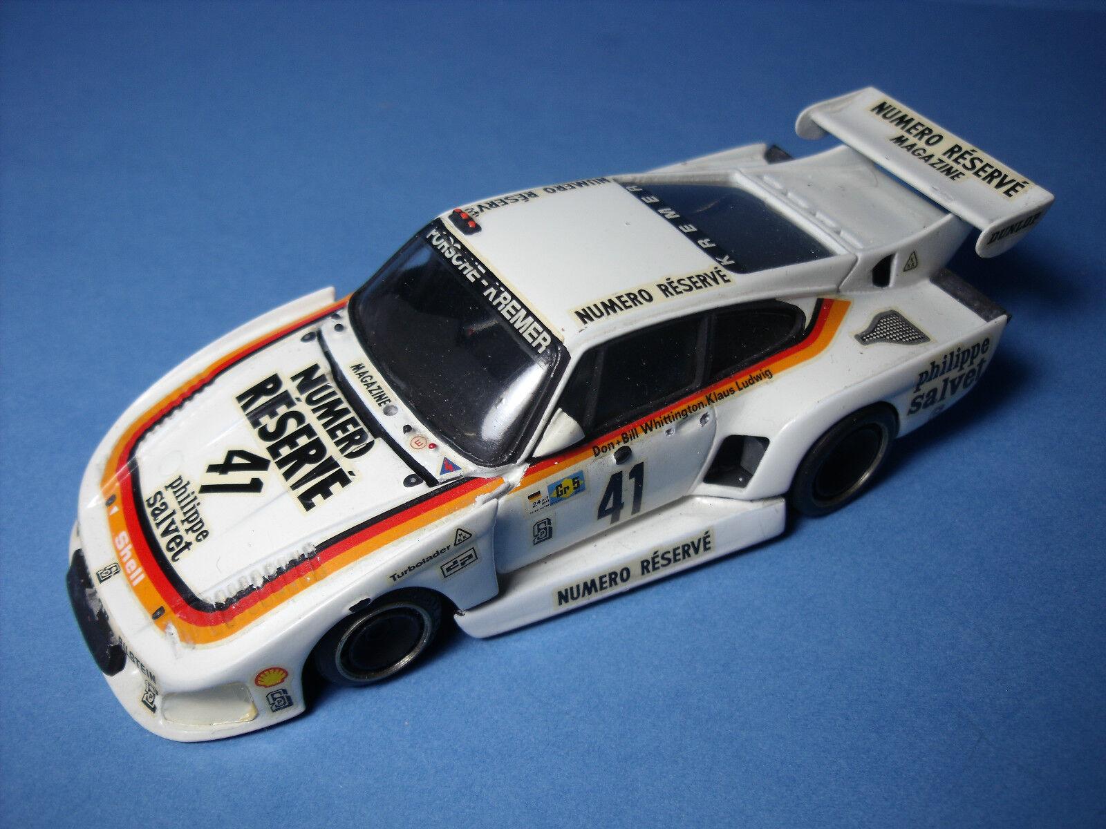 Porsche 935 k3 le  hommes 1979 kit amr 1 43 no spark starter esdo  garanti