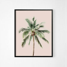 Palm Tree Beach Wall Art Print Great Home Decor A3 A2 A1 Sizes MIX /& MATCH