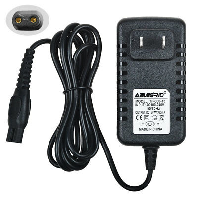 Super Power Supply® Charger Cord for Philips Norelco Cool Skin 6737X 6735X 6705X