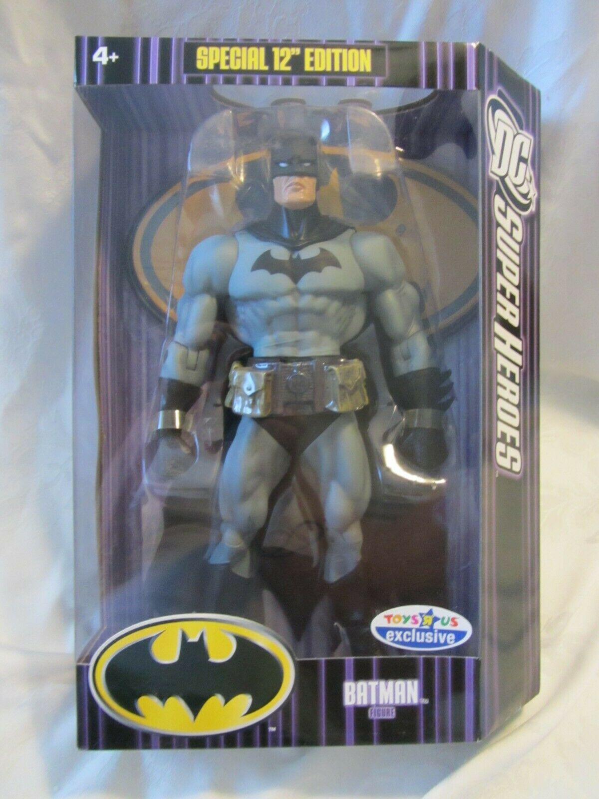 2007 MATTEL SPECIAL EDT 12 IN BATMAN TOYS R US EXCLUSIVE SEALED