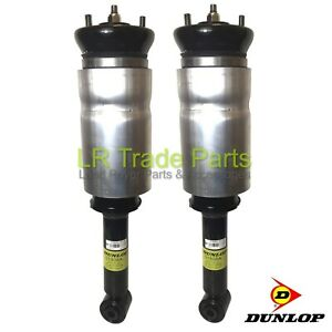 LAND-ROVER-DISCOVERY-3-FRONT-DUNLOP-AIR-SUSPENSION-SPRING-STRUTS-X2-RNB501580