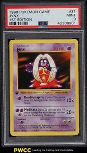 1999 Pokemon Base Set 1st Edition Shadowless Jynx #31 PSA 9 MINT
