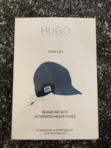 Neuf Hugo Boss Bonnet Beanie avec des écouteurs