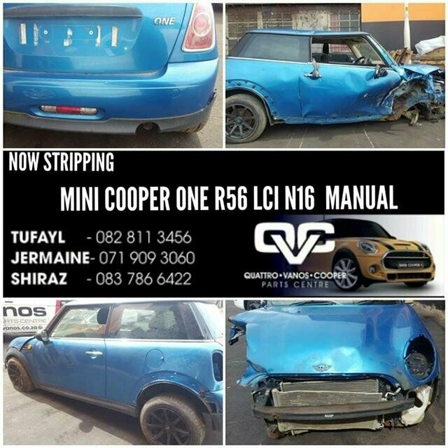 MINI COOPER ONE R56 STRIPPING FOR SPARES